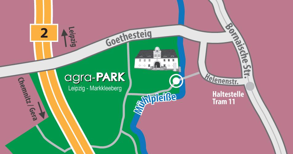 Lageplan Torhaus Dölitz