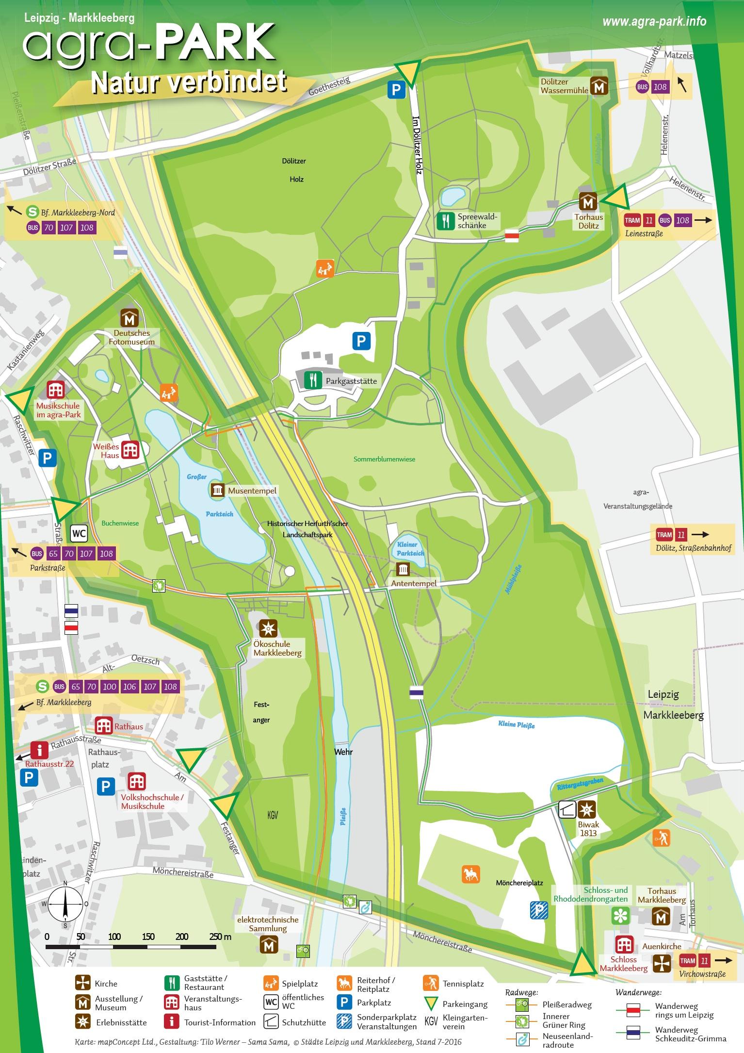 agra-Park Plan